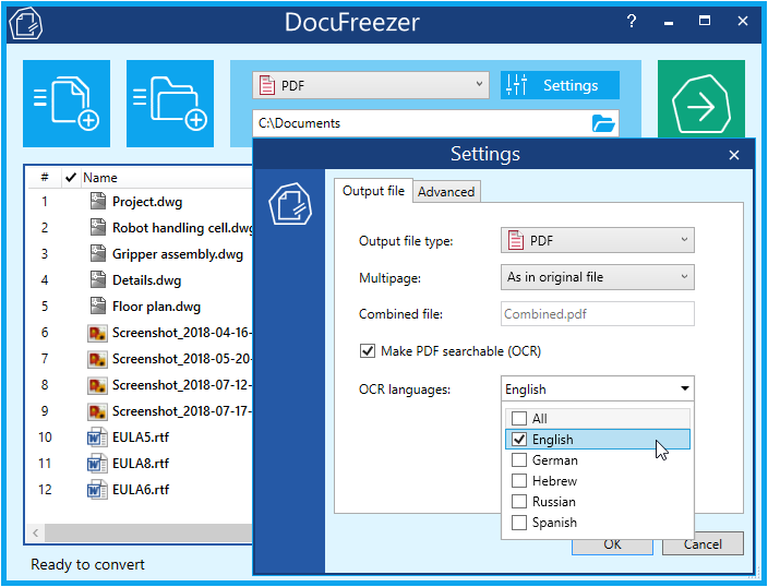 DocuFreezer latest version