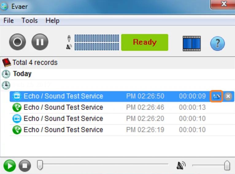 Evaer Video Recorder For Skype windows