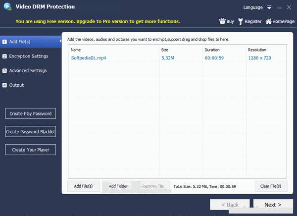Gilisoft Video DRM Protection windows