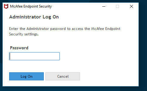 McAfee Endpoint Security latest version