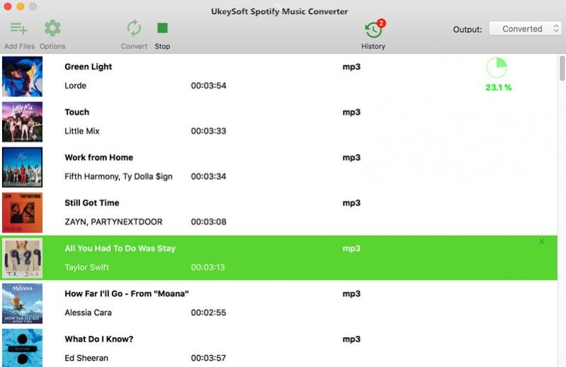 UkeySoft Spotify Music Converter latest version