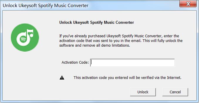 UkeySoft Spotify Music Converter windows