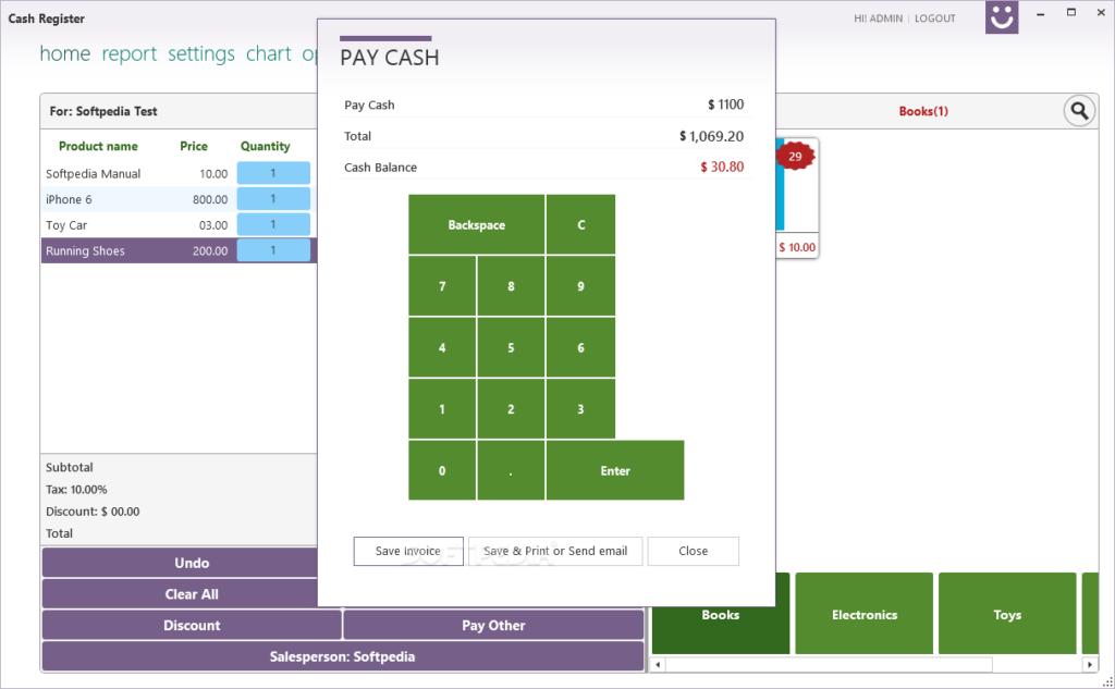 Cash Register Pro latest version