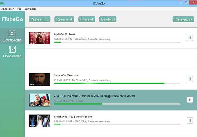 iTubeGo YouTube Downloader 4 Crack Download Full FREE